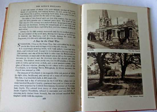p288 and facing photos of Scrooby.