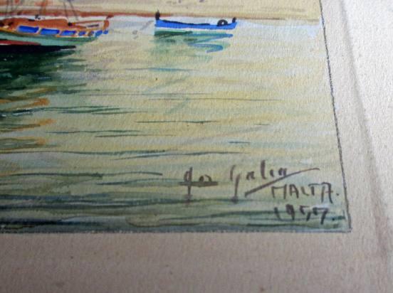 The artist's signature lower rh corner.