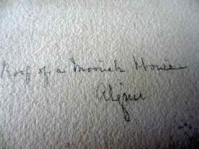 Possible signature.