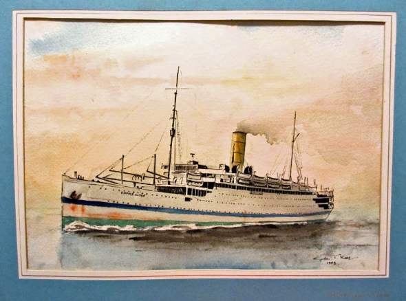 Image of H.M.T. Empire Clyde