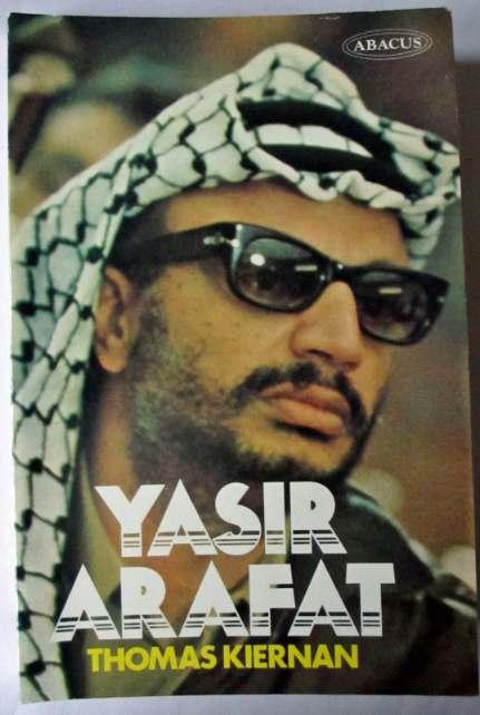 Abacus edition Yasir Arafat by Thomas Kiernan.