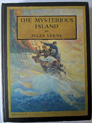 The Mysterious Island by Jules Verne, 1918.