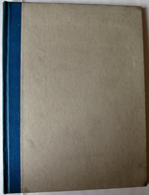 The front board of A Book of Praise. First Edition 1948.