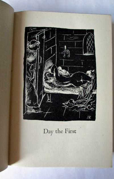 Day the First illustration by Jean O'Neill.