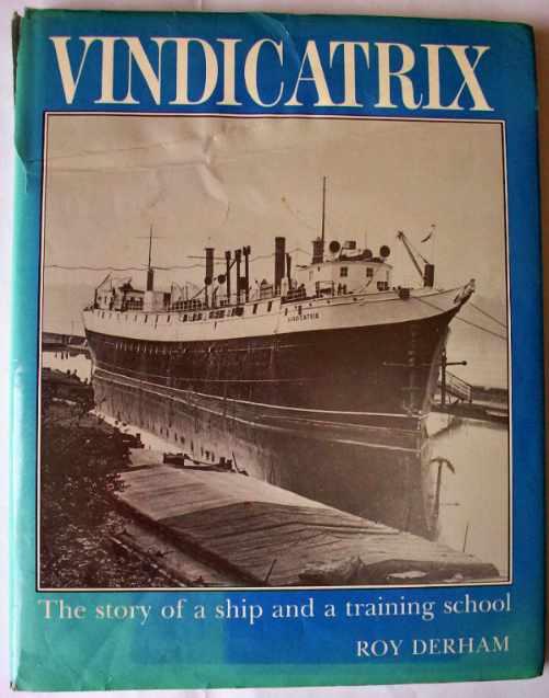 Vindicatrix by Roy Derham, front cover.