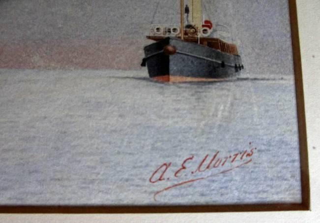 Artist's signature lower rh corner.