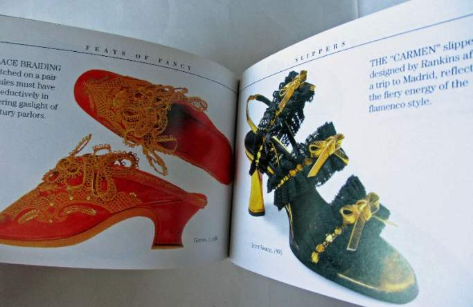 Sample pages from Shoes by Linda O'Keeffe.