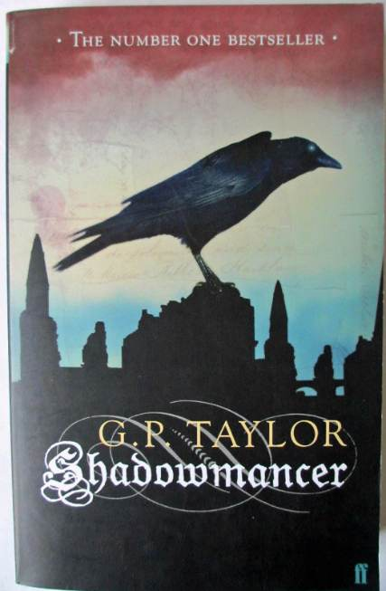 Front cover of Shadowmancer by G.P. Taylor.