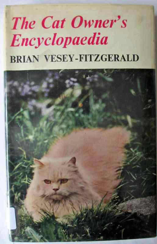 The front cover (DJ) The Cat Owner's Encyclopaedia.
