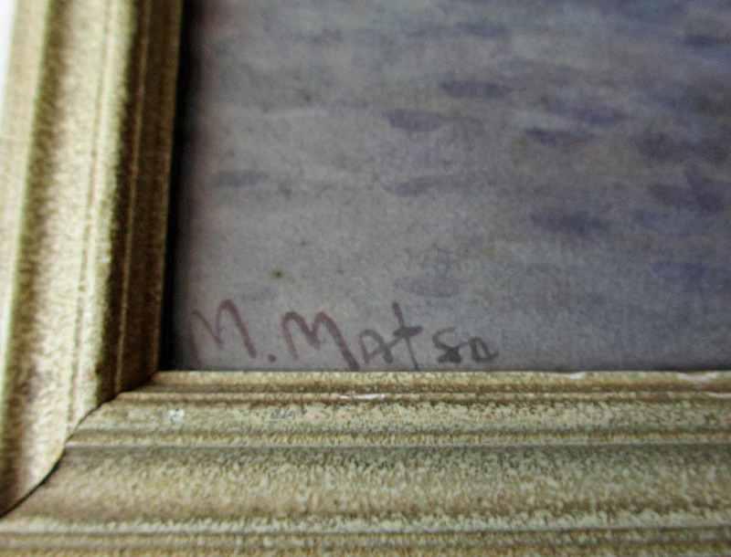 M. Matsu's signature.