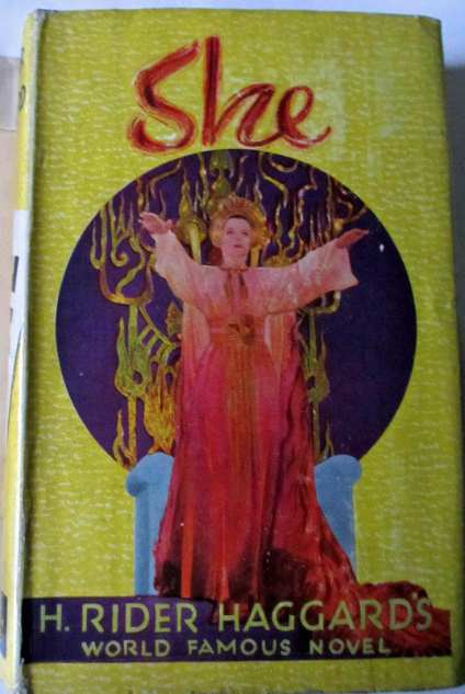 H. Rider Haggard's famous classic, She, c1935.