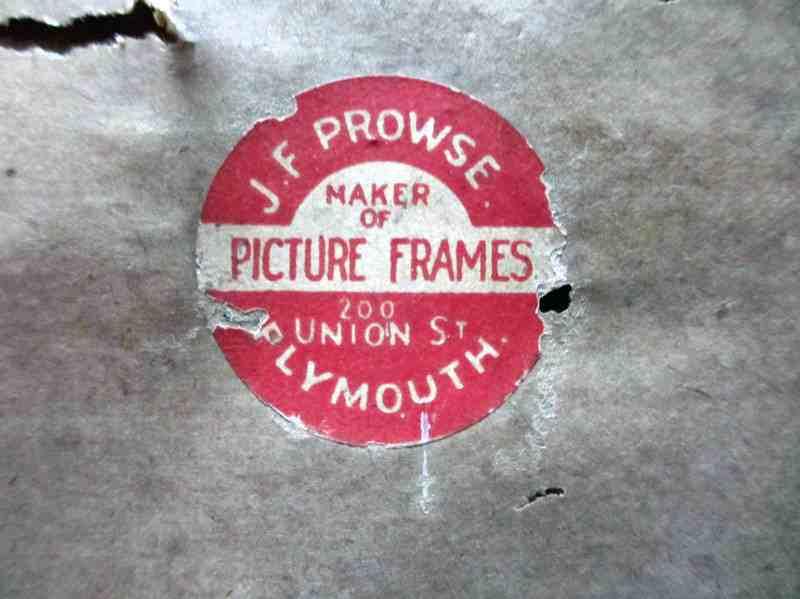 The framer's label.