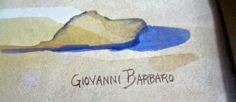 Barbaro signature on the Bedouin Camp.