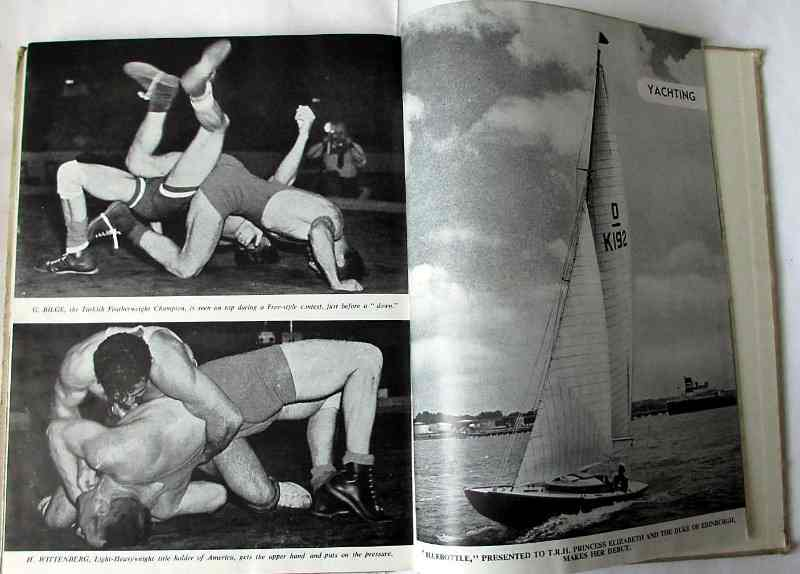 Sample pages Wrestling/Yachting.