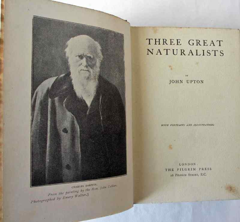 Title page with Charles Darwin facing.