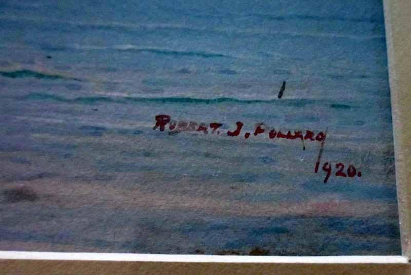 Robert J. Pollard's signature and date.
