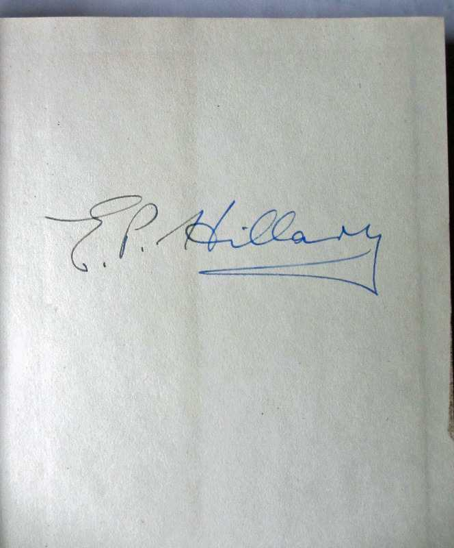 Author's signature in ink front e/p.
