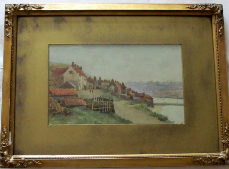 Overall framed painting