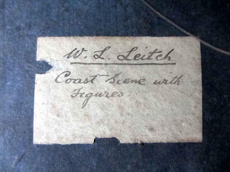 Label verso.