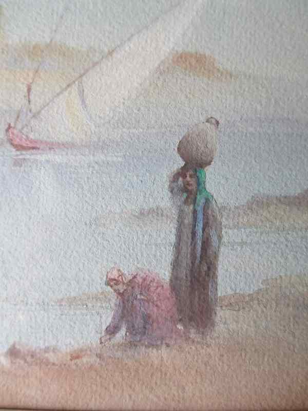 Arabian river scene with more detail.