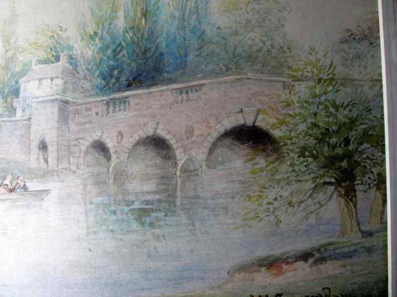 Detail of the river/bridge.