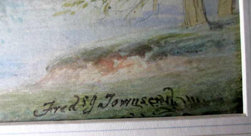 Artist's signature.