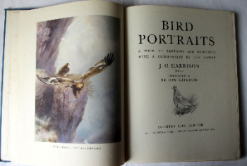 Bird Portraits. A Book of Sketches and Paintings with a Commentary by the Artist J.C. Harrison M.B.O.U., Country Life Ltd., London. First Edition 1949