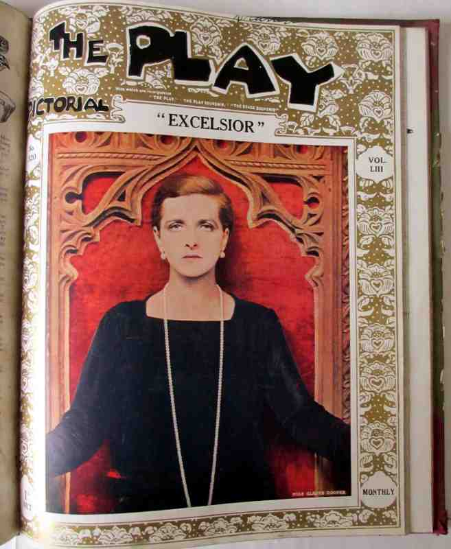The Play Pictorial. 1928. Excelsior.