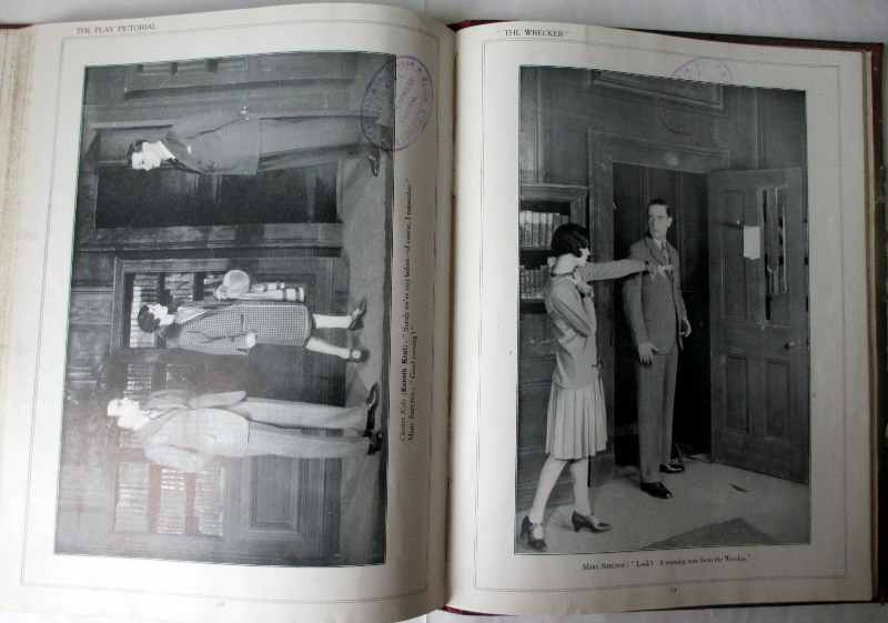 The Play Pictorial 1928 (6 issues in 1 vol.). Sample photos.