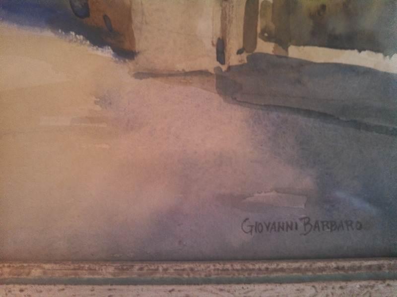 Giovanni Barbaro's signature.