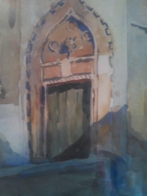 Barbaro - the doorway.