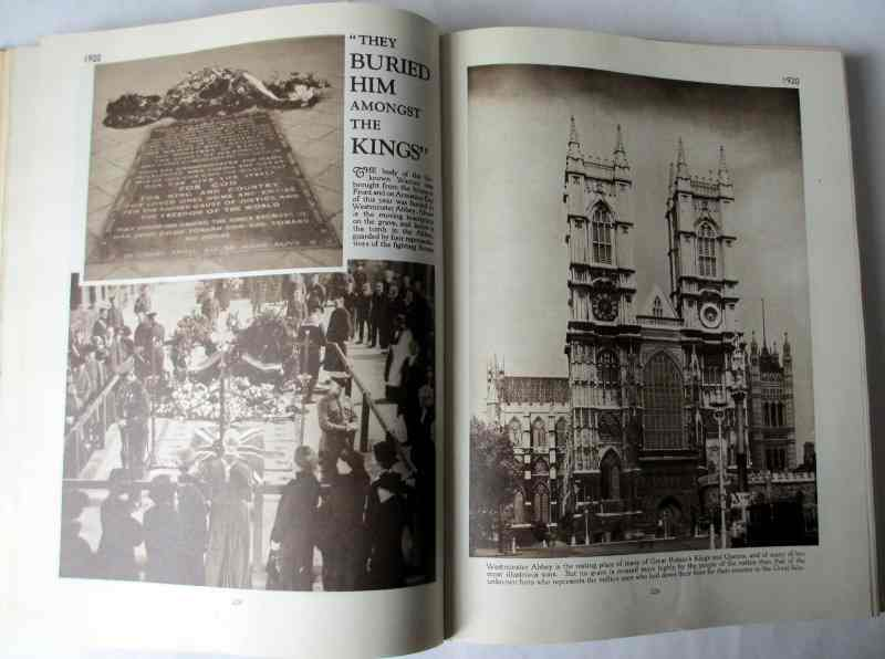 The Story of 25 Eventful Years in Pictures by Odhams Press 1935. Sample photos.