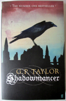 Shadowmancer by G.P.Taylor. Limited Edition 9/20 Signed by author, 2003. With colourcard of author signing.  SOLD  13.01.2014.