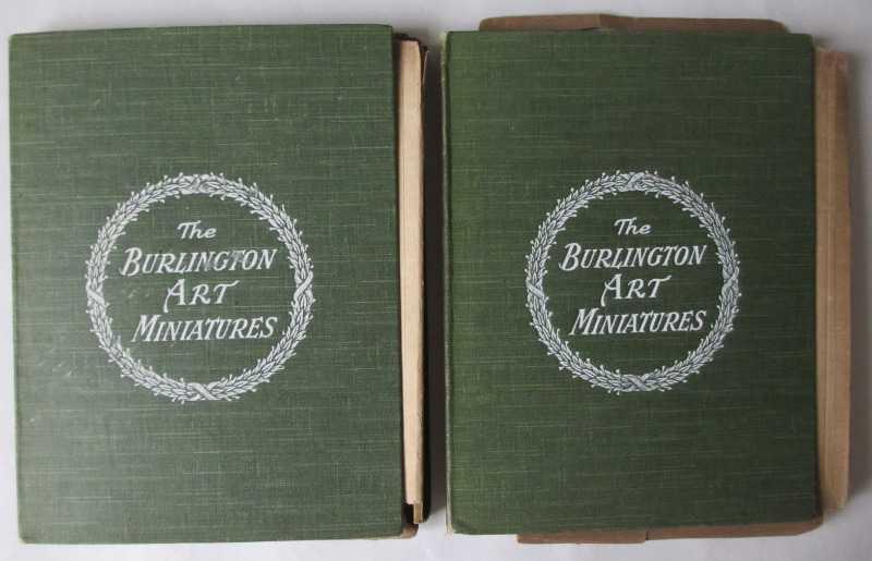 The Burlington Art Miniatures publised by The Fine Arts Publishing Co. Ltd., London, E.C. c1900.
