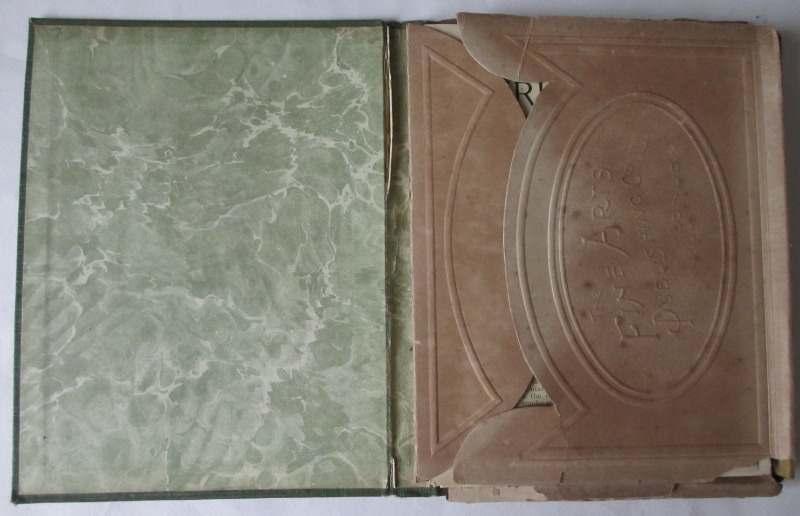 The Burlington Art Miniatures publised by The Fine Arts Publishing Co. Ltd., London, E.C. c1900. Inside the case.