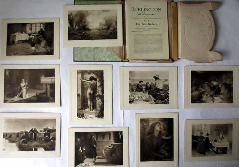 The Burlington Art Miniatures publised by The Fine Arts Publishing Co. Ltd., London, E.C. c1900. No. 7. The Tate. Contents.