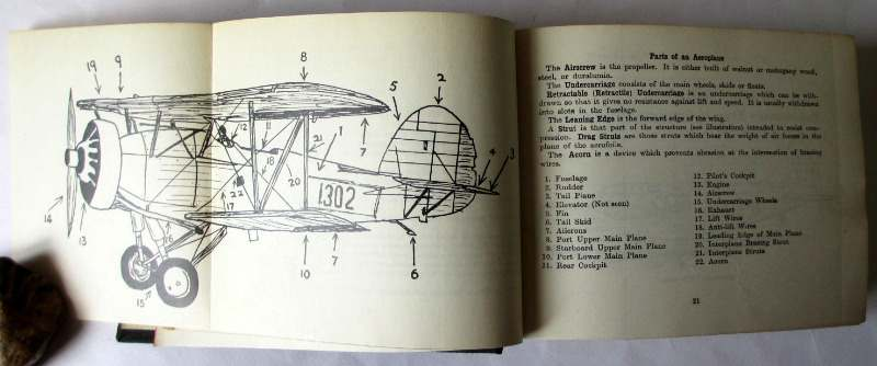 Aircraft and the Air, edited by Eric Sargent, published by Sampson Low, Marston & Co. Ltd. 1937. First Edition. Detail.