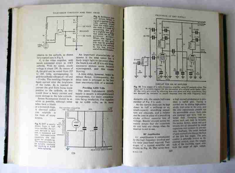 Radio, Television and Electrical Repairs, Illustrated, Edited by Roy C. Norris. Odhams Press 1948. First Edition. Sample pages.