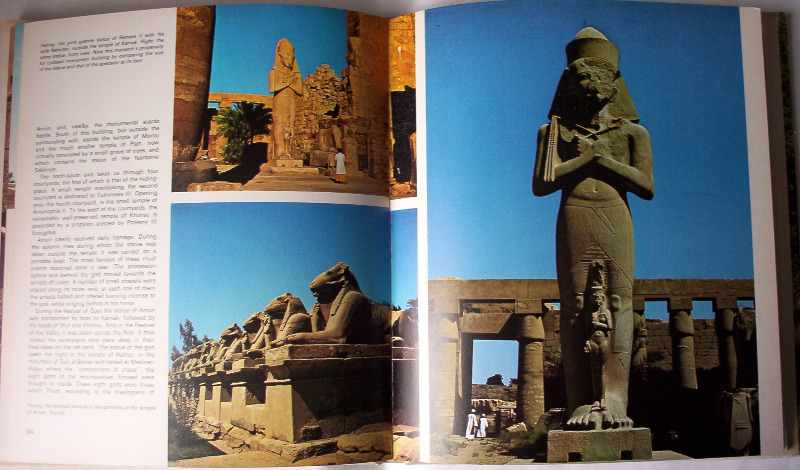Egypt by Pierre and Janine Soisson, Crescent Books, 1979. First Edition English. Sample pages.