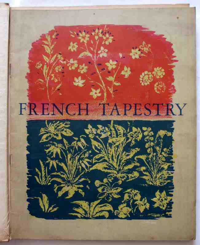 Masterpieces of French Tapestry, an exhibition held at The Victoria and Albert Museum March 29 - May 31, Published by The Arts Council of Great Britain 1947.