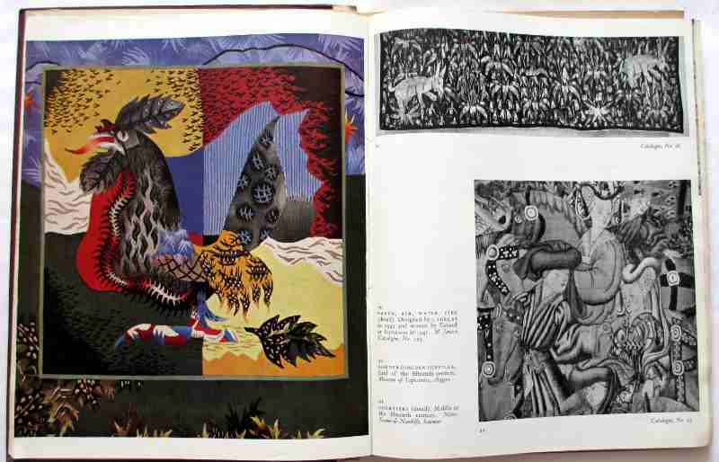 Masterpieces of French Tapestry, an exhibition held at The Victoria and Albert Museum March 29 - May 31, Published by The Arts Council of Great Britain 1947. Sample page.