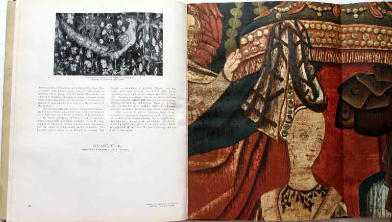 French Tapestry, edited by Andre Lejard, 1946. Sample plate.
