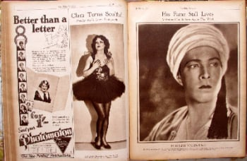 Film Weekly Magazine. Mon. April 15 to July 22, 1929, bound volume.  SOLD.