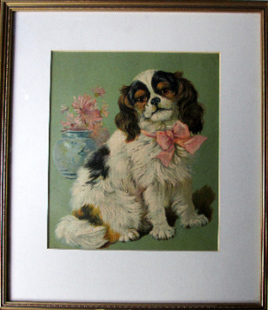 Judy, open-edition print, lithograph, framed and glazed. c1960.