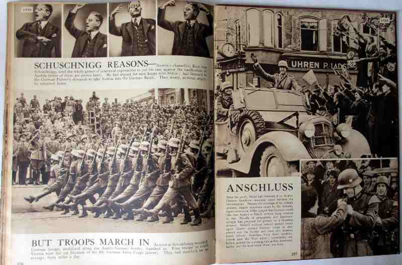 These Tremendous Years 1919-1938, Daily Express Publication, 1938. Sample pages.