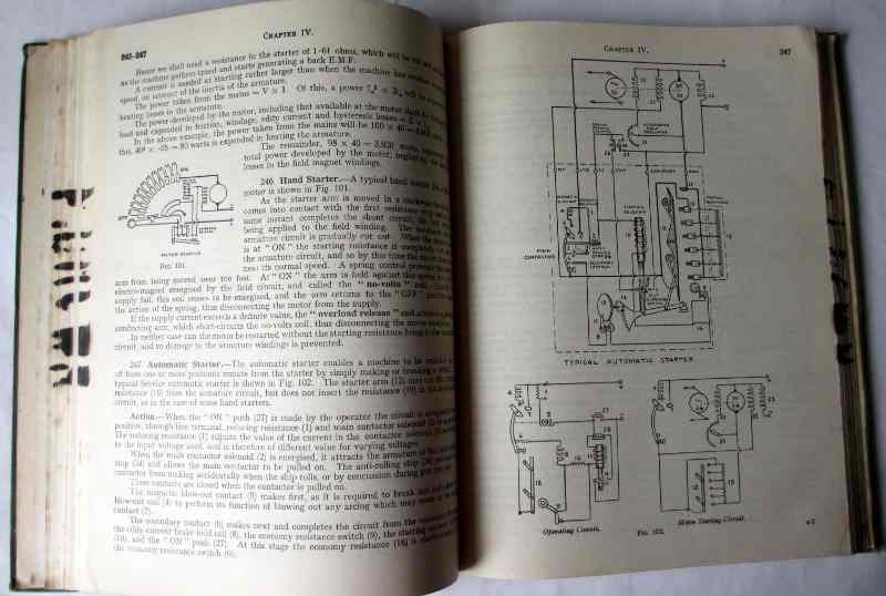 Admiralty Handbook of Wireless Telegraphy, Vol. I 1938. HMSO, 1949. Sample page.