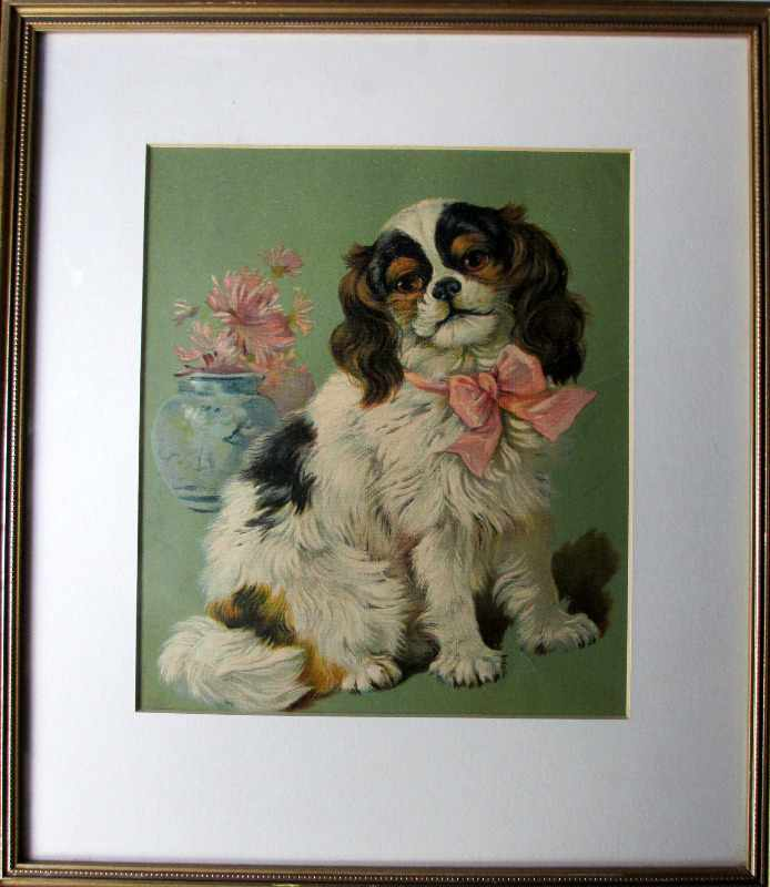 Judy, open-edition print, framed and glazed, c1980.
