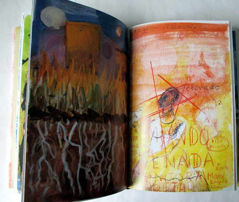 The Diary of Frida Kahlo, Abrams, 2005. Sample pages.