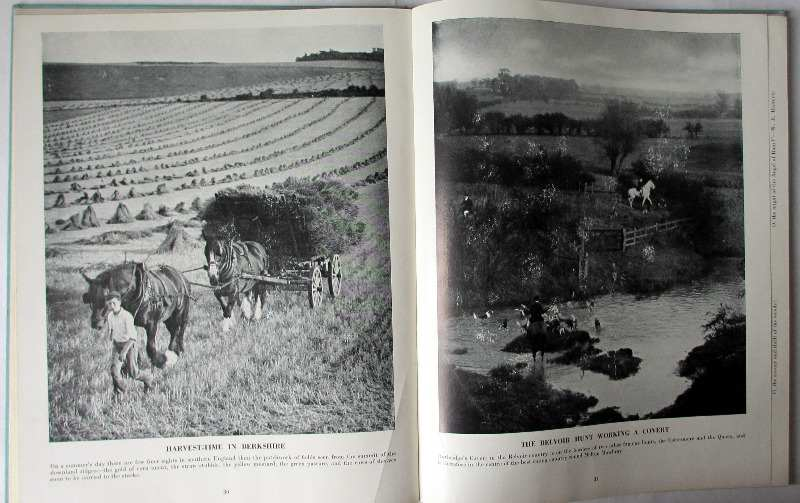 The Country Life Picture Book of Britain, 1937. First Edition. Sample plates.