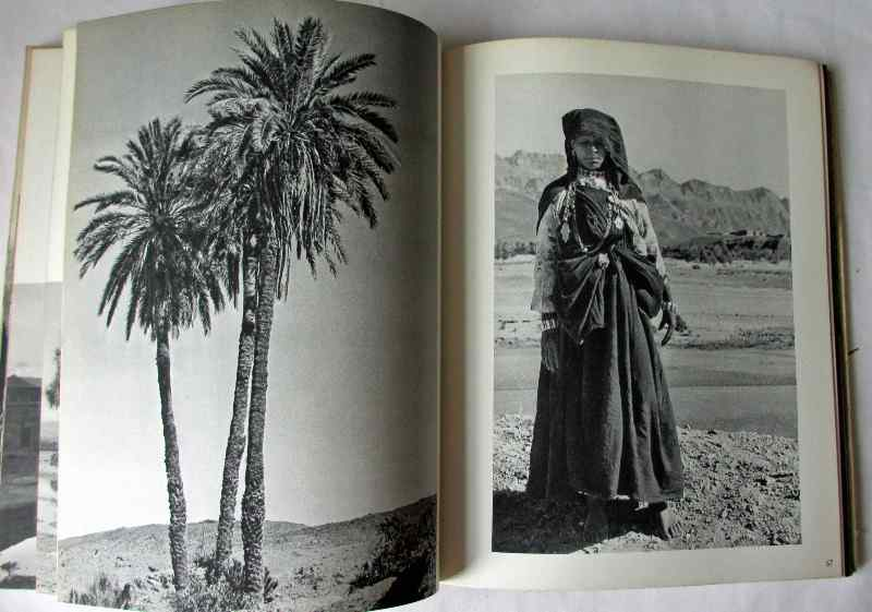 Maroc by Clair Sainte-Soline, 1954. First Edition. Sample photos.